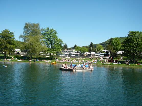 Campingplatz Goldbreite direkt am Diemelsee