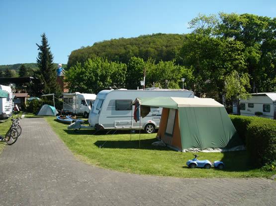 Campingplatz am Diemelsee