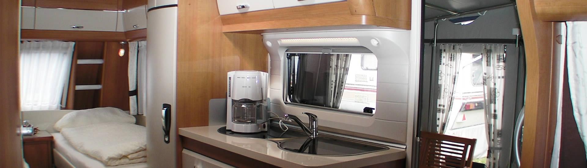 Mietwohnwagen Seerose Bild 2