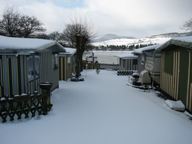 Wintercamping Campingplatz Diemelsee