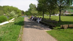 Campingplatz Diemelsee Längste Bank Hessens